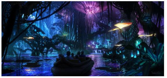 bosque luminoso pandora