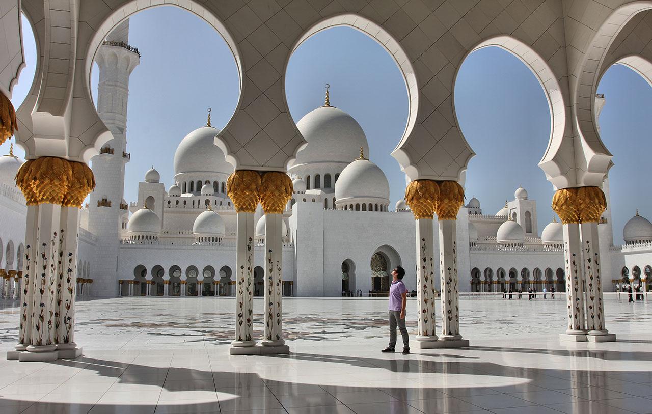 Mezquita Abu Dhabi