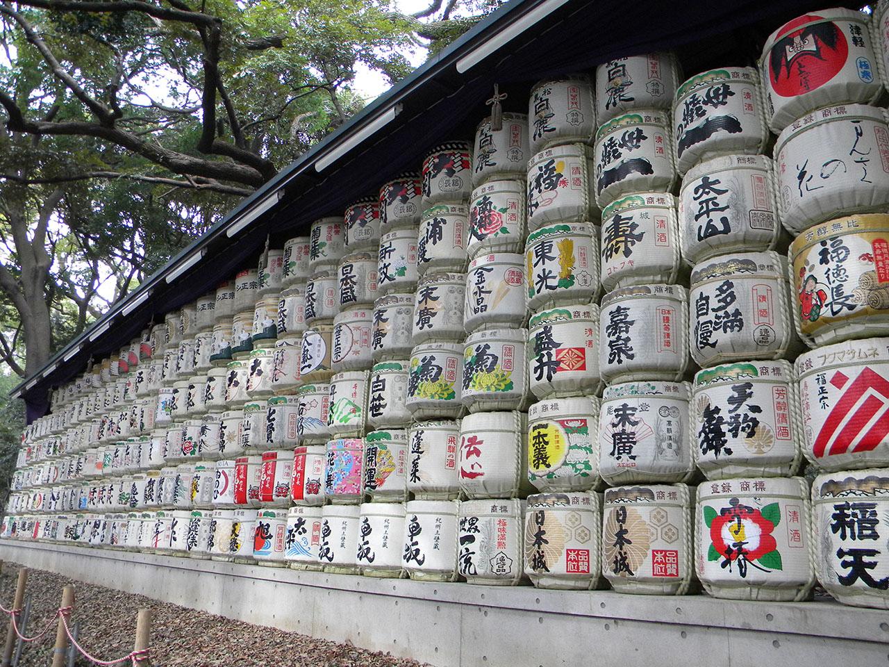Sake Barrels @ Tokyo