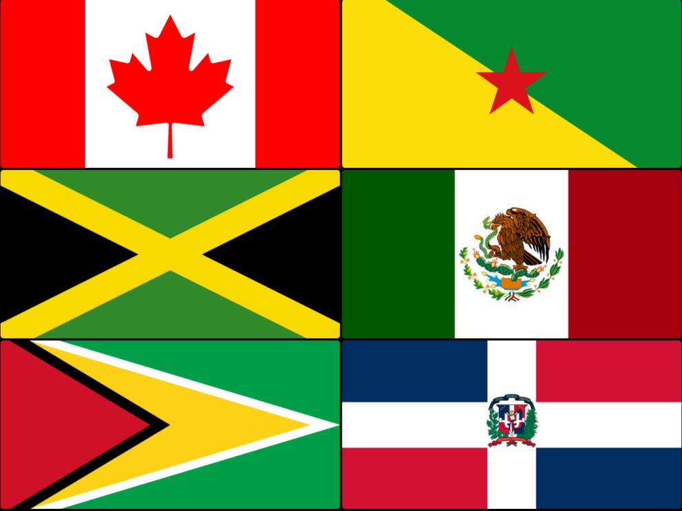 ¿Cuántas Banderas De América Reconoces?